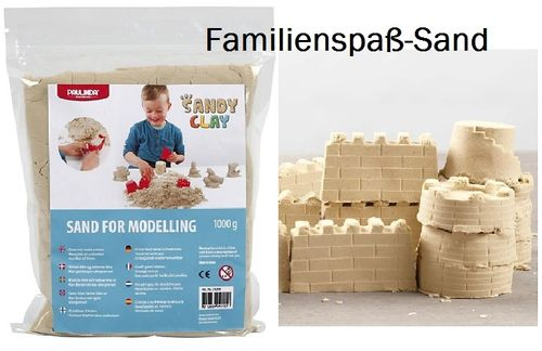 Sandy clay, kinetic Sand, 1kg