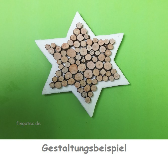 Baumscheiben 10 15mm Grosspackung Naturmaterial Fingotec